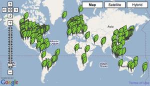 Брестская область присоединилась к проекту greenmap.by