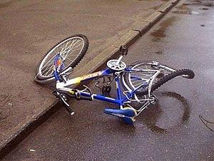 В Ольшанах сбит велосипедист